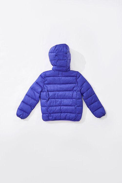 Girls Hooded Puffer Jacket (Kids), image 2