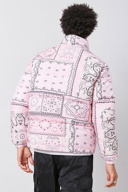 Bandana Print Puffer Jacket, image 3