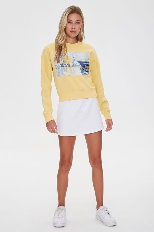 Fleece Painting Pullover, image 4