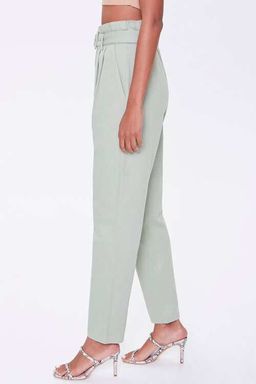 Paperbag Belted Pants, image 3