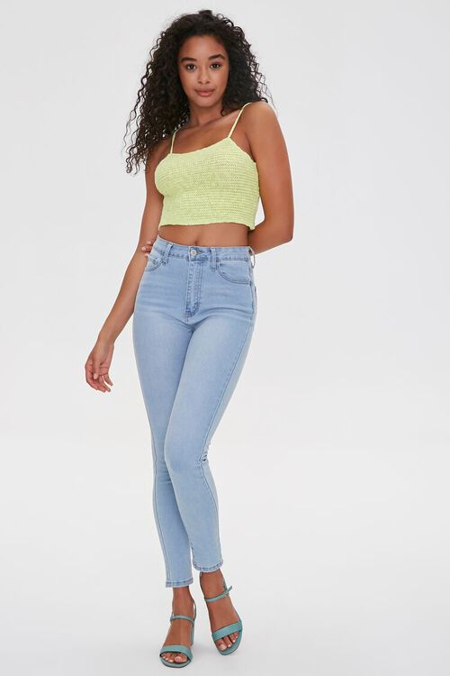 Sweater-Knit Cropped Cami, image 4