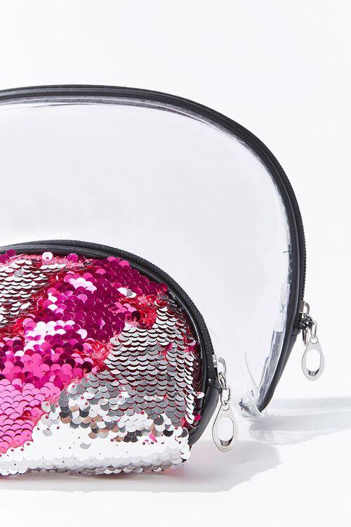 Transparent & Sequin Pouch, image 3