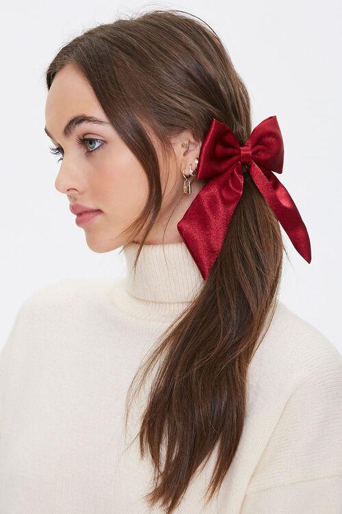 Bow Barrette Hair Clip, image 1