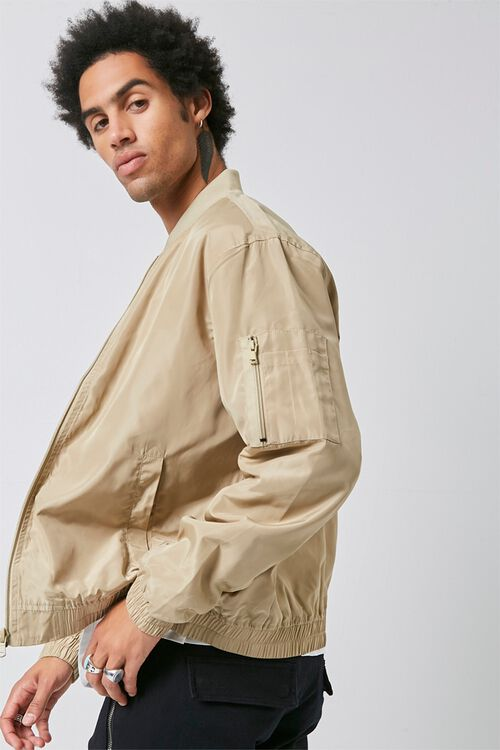Zippered Bomber Jacket, image 2