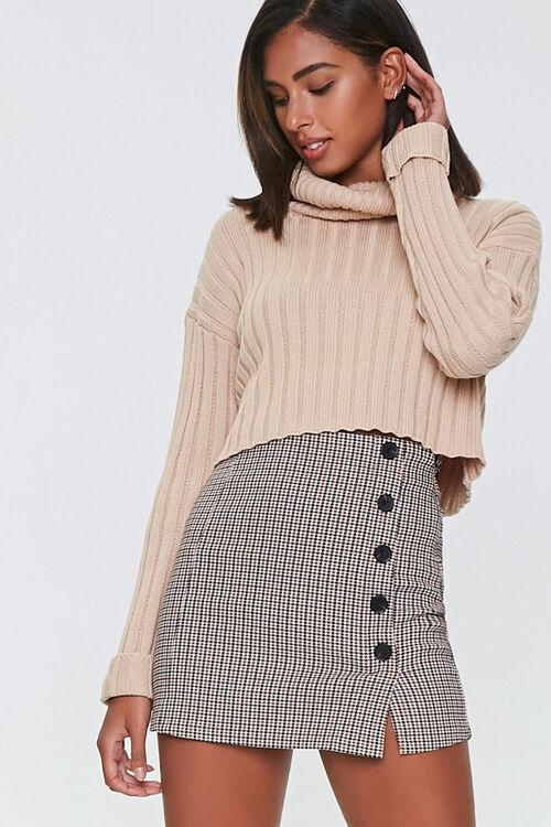 Plaid Mini Skirt, image 1