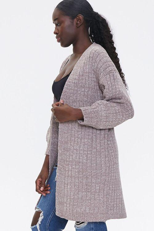 Ribbed Cardigan Sweater, image 2
