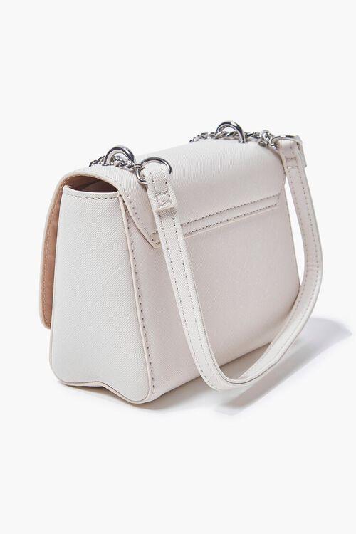 CREAM Faux Leather Crossbody Bag, image 3