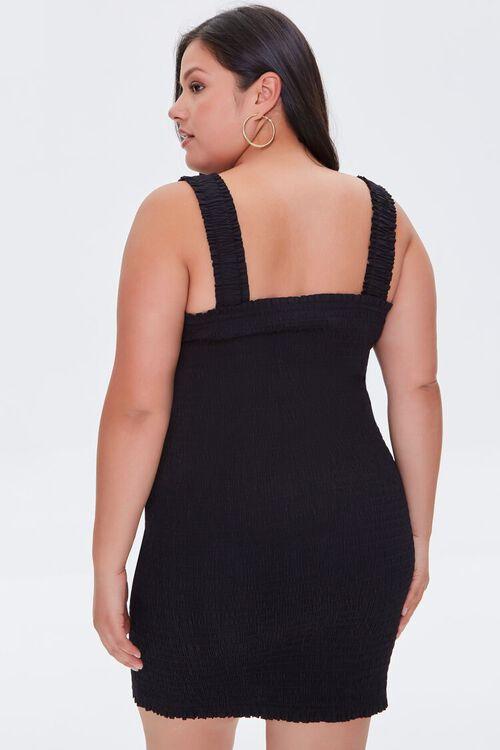 Plus Size Smocked Bodycon Dress, image 3