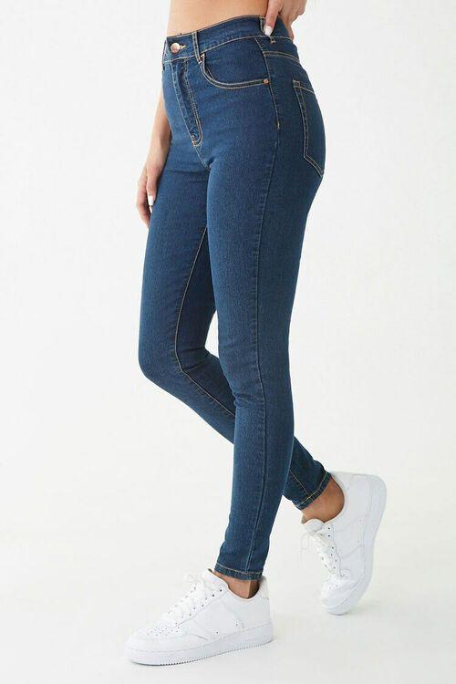 Stretch High-Waist Skinny Jeans, image 3
