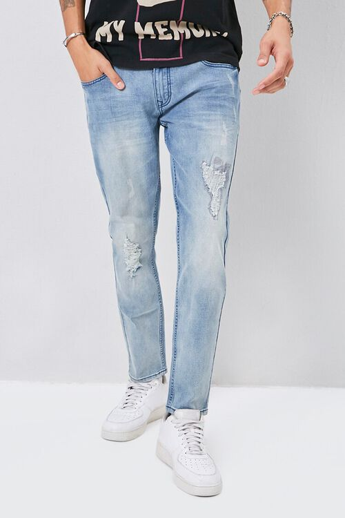 X-Ray Distressed Jeans, image 2