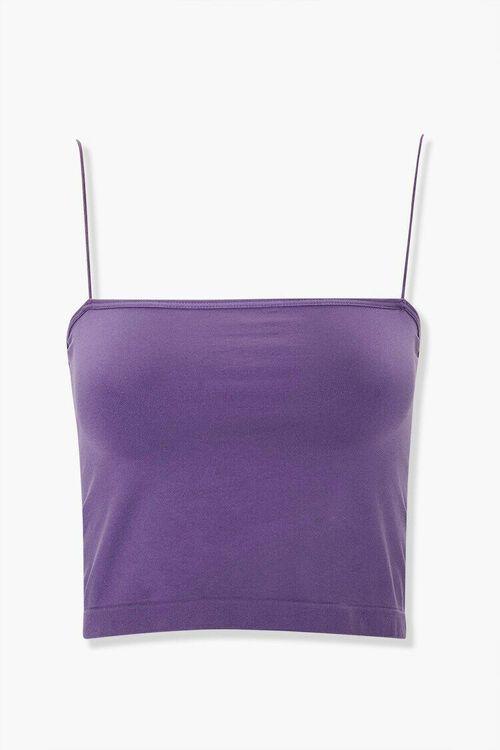 AMETHYST Seamless Stretch-Knit Bralette, image 1