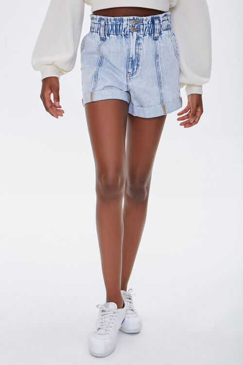 ACID DENIM Denim Paperbag Shorts, image 2