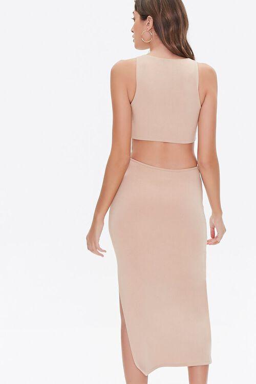Cutout O-Ring Side-Slit Dress, image 4
