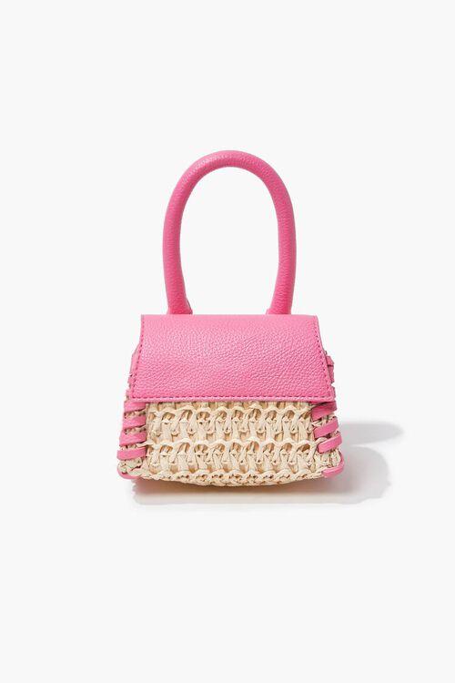 Basketwoven Mini Crossbody Bag, image 3
