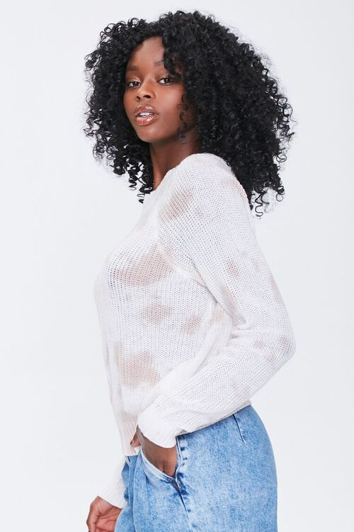 Cloud Wash Open-Knit Sweater, image 2