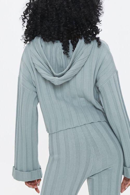 Ribbed Drop-Sleeve Hoodie, image 3