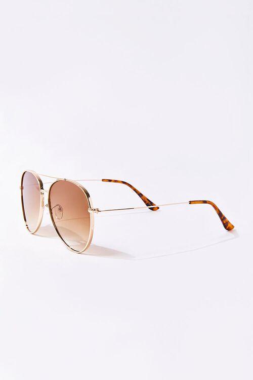 Men Tinted Aviator Sunglasses, image 2