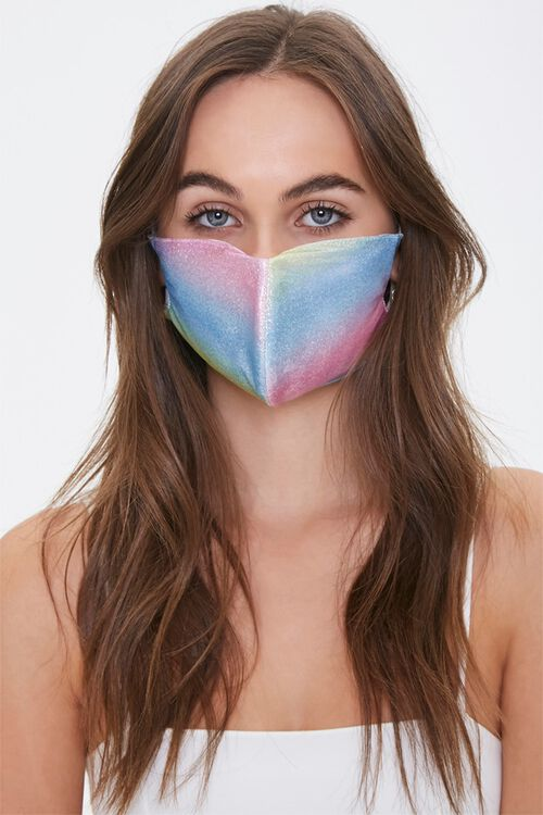 PINK/MULTI Colorblock Wash Face Mask, image 1