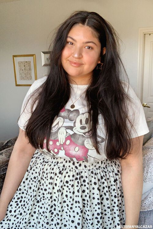 Plus Size Mickey & Minnie Mouse Graphic Tee, image 1