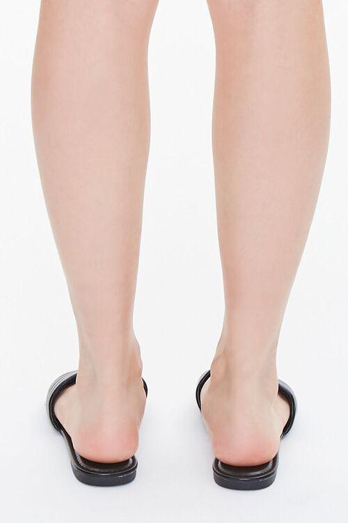 Metallic Quilted Sandals, image 3