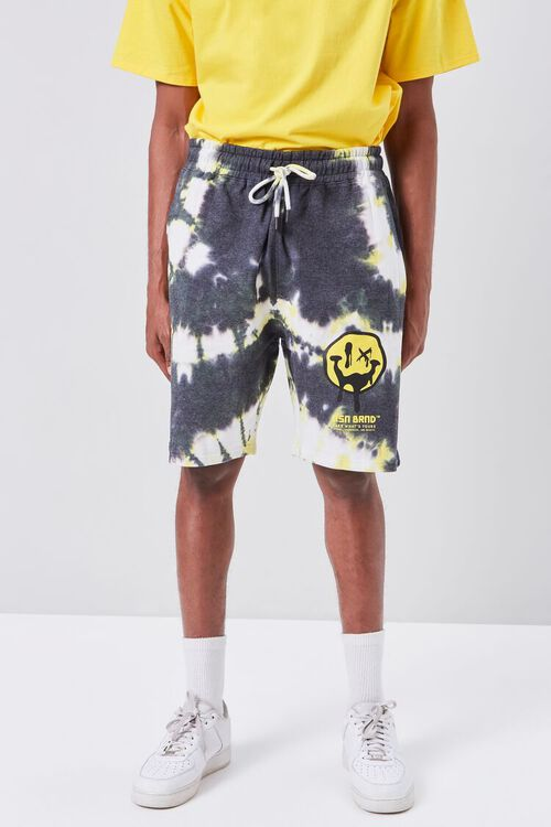 Reason Tie-Dye Fleece Shorts, image 2