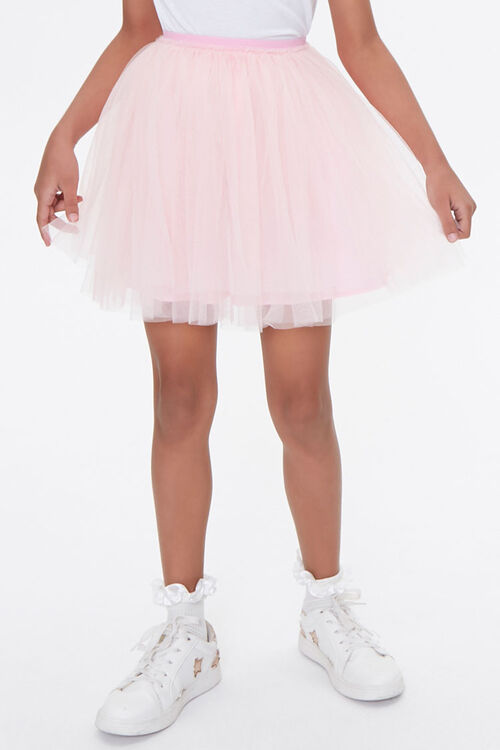 Girls Tulle Ballerina Skirt (Kids), image 2