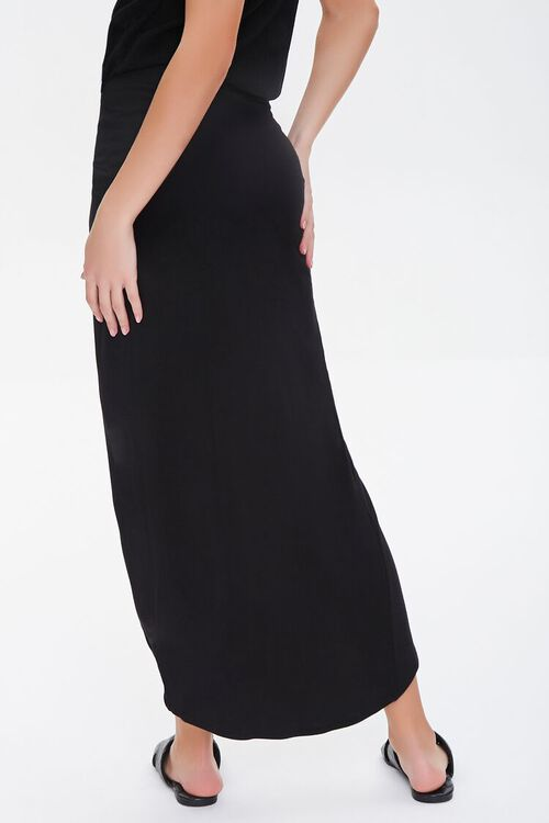 Twisted High-Low Skirt, image 4