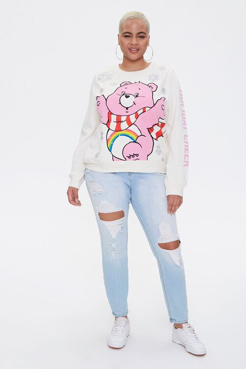 Plus Size Cheer Bear Light-Up Pullover, image 4