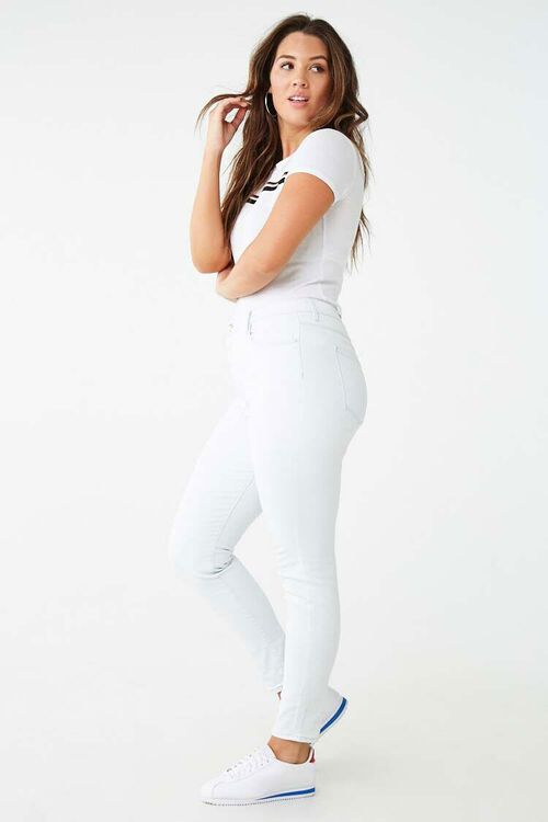 Mid-Rise Skinny Jeans, image 6