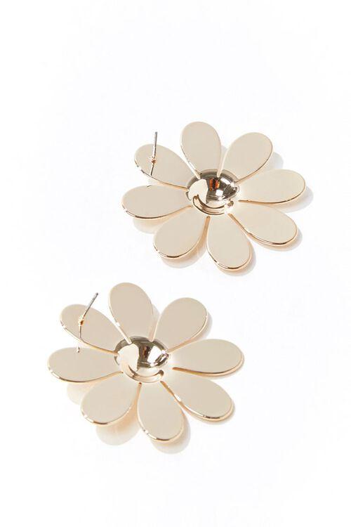 Oversized Daisy Stud Earrings, image 2
