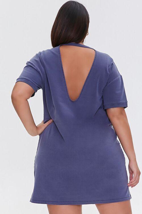 NAVY Plus Size Mini T-Shirt Dress, image 3