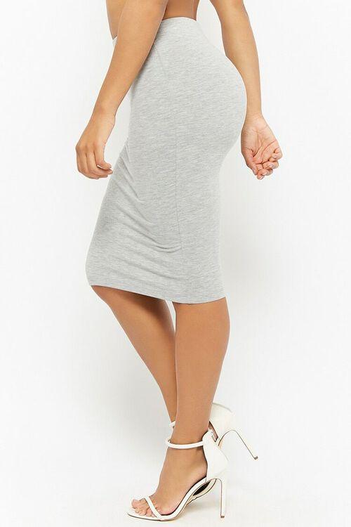 Stretch-Knit Pencil Skirt, image 3