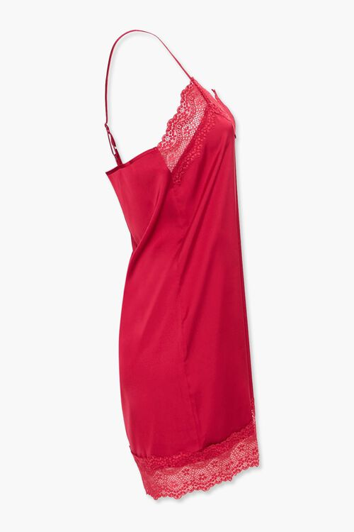 Lace-Trim Slip Nightdress, image 2