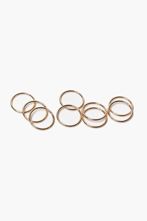 GOLD Stackable Ring Set, image 1