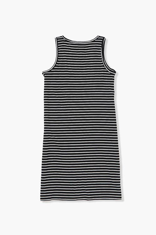 Girls Striped Tank Dress (Kids), image 2