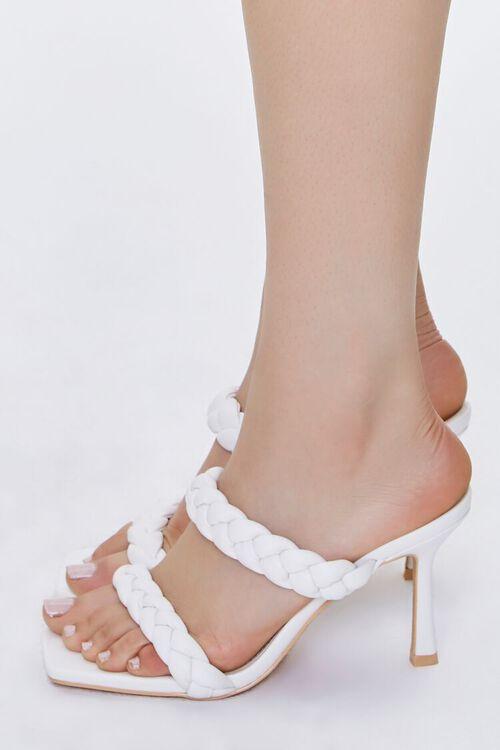 Braided Square-Toe Heels, image 2