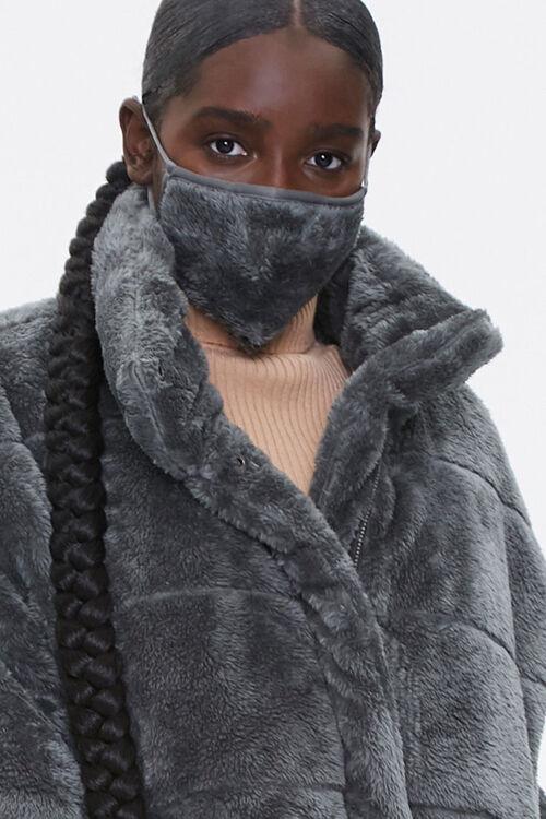Plush Coat & Face Mask Set, image 5
