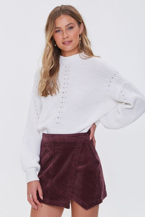 CHOCOLATE Corduroy Mini Skirt, image 1