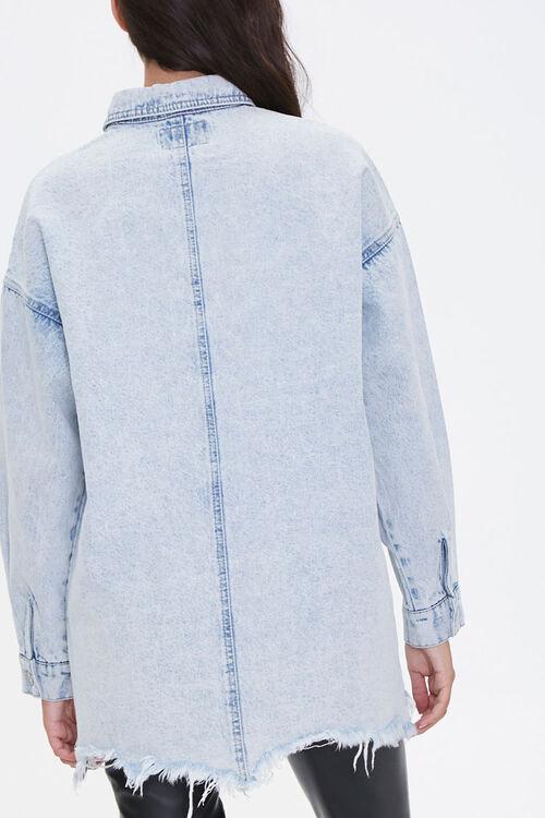 Frayed Denim Jacket, image 3