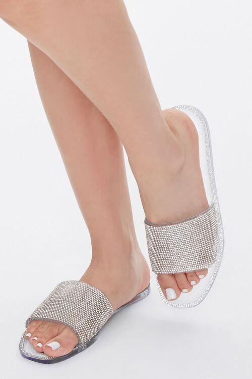 Rhinestone Jelly Sandals, image 1
