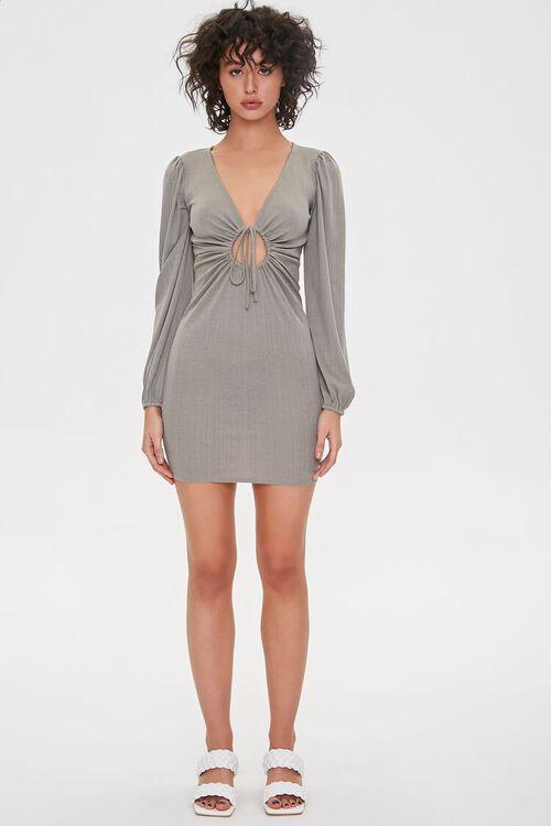 Cutout Bodycon Mini Dress, image 4