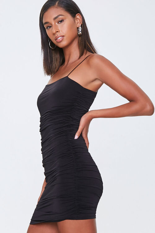 Ruched Bodycon Cami Dress, image 2