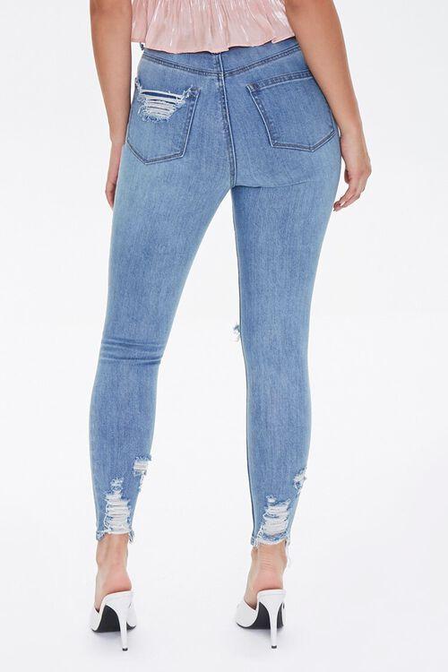 MEDIUM DENIM Curvy Fit High-Rise Jeans, image 4