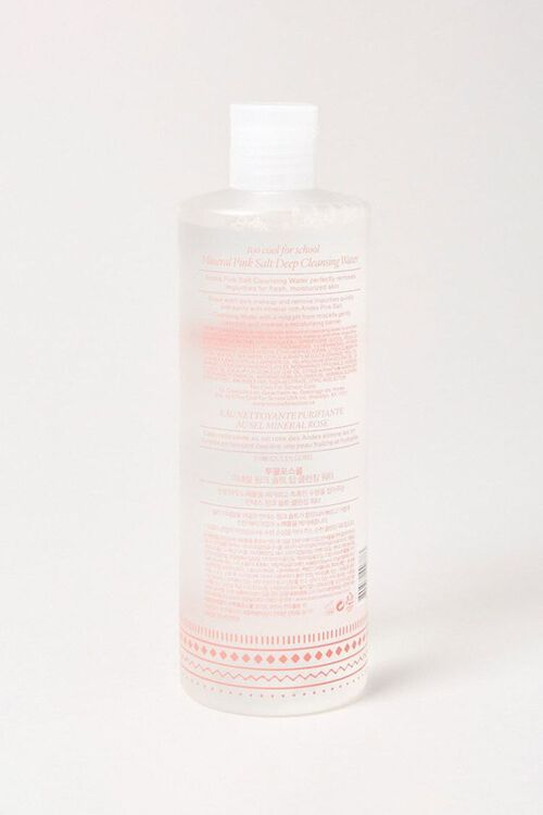 CLEAR Mineral Pink Salt Deep Cleansing Water, image 2