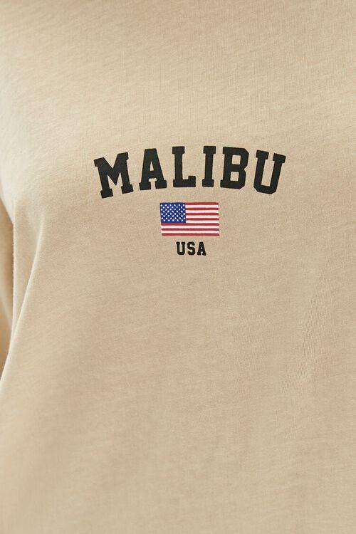 TAUPE/MULTI Malibu Graphic T-Shirt Dress, image 5