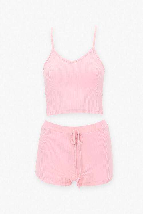 Cropped Cami & Shorts Set, image 1