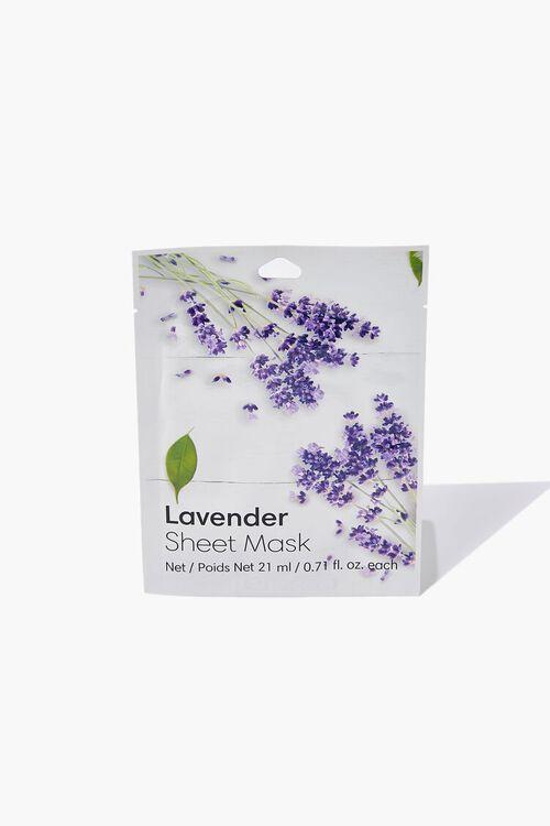WHITE Lavender Sheet Mask, image 1