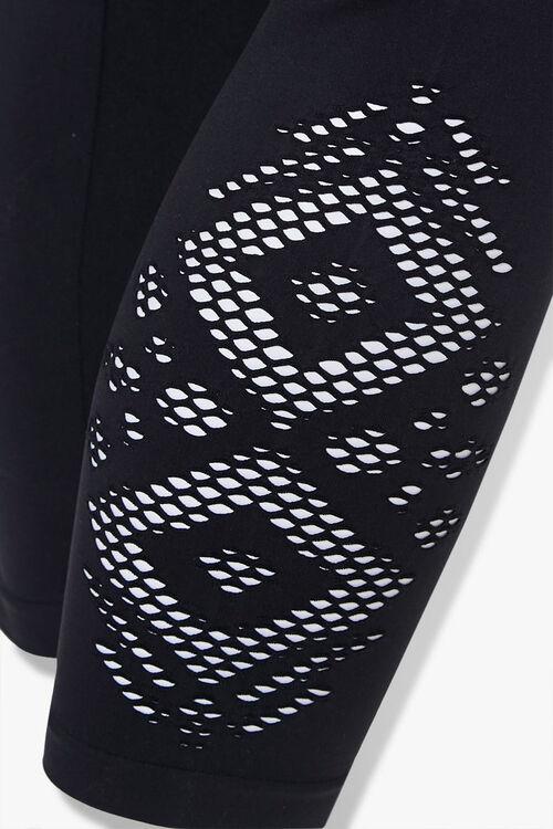 Plus Size Cutout Capri Leggings, image 5