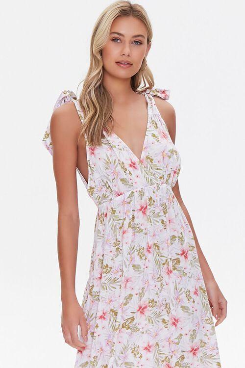 Floral Print Midi Dress, image 4