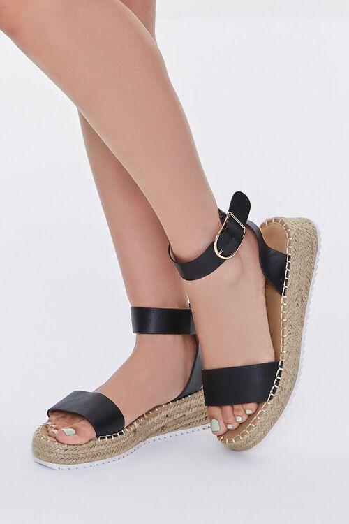 Espadrille Flatform Sandals, image 1